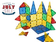 Safety Certified - Jolly Mags Magnetic Tiles Set - 3D Bui...