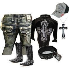 """""""MENS ROCK REVIVAL COLLECTION"""" by tristiking on Polyvore"""