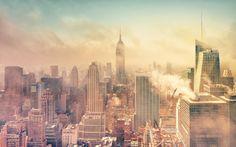 Coulds Manhattan New York Smoke