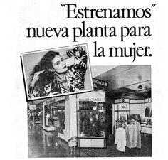 Antigua boutique Balenciaga para El Corte Inglés.