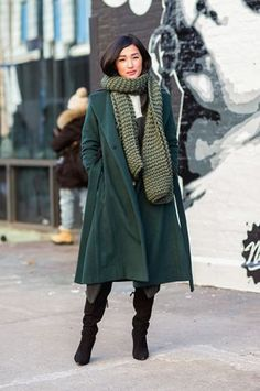 Proof The Olivia Pope Coat Works For Everyone