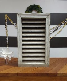 Attic Vent; Barn Vent; Wooden Vent; Antique Vent; Farmhouse; Joanna Gaines; Fixer Upper by LynnMichelleDesign on Etsy