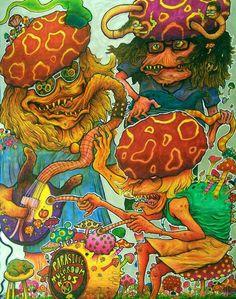 psychedelic mushroom band! #shrooms #LSD