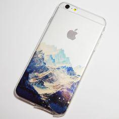 Snowy Mountains iPhone 6 Plus / 6S Plus Transparent Soft Case