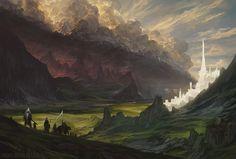 Noah Bradley · Environment Concept Art, Illustration, and Visual Development