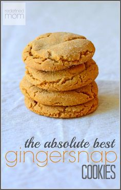 I get it. A Chewy Gingersnap Cookie Recipe is a bit of a oxymoron. If you love the tastes of a gingersnap, but just wish it was chewy, this is your cookie.