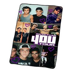Dolan Twins 4Ou Collage Throw Blanket Custom Blanket 58X80 SQ