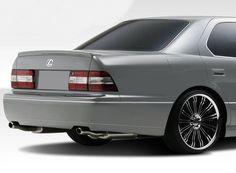 Duraflex 98-00 Lexus LS-Series LS400 VIP Design Rear Bumper Cover Kit