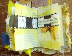 Wee altered fairy journal on Etsy - Knickertwists