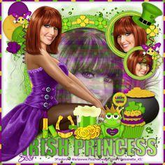 Délire2scrap Tutorials: FTU - Irish Princess