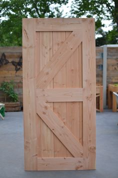 Handgemaakte deur van douglas hout! Circa 37mm dik, dus ideaal te gebruiken als schuifdeur! Tall Cabinet Storage, Furniture, Home Decor, Decoration Home, Room Decor, Home Furnishings, Arredamento, Interior Decorating