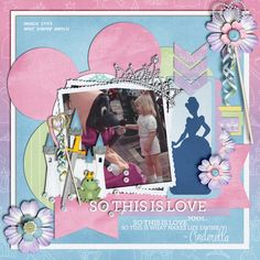 Princess Mere - MouseScrappers - Disney Scrapbooking Gallery