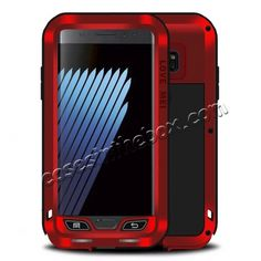 Powerful Metal Aluminum Shockproof Case Cover For Samsung Galaxy Note 7 - Red US$105.38