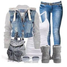 Cute winter outfit❤
