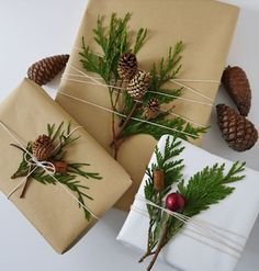 Sweet Violet Bride - http://sweetvioletbride.com/2013/12/inspiration-wrapping-pretty-packages/