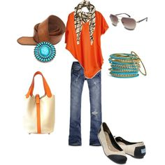 Orange Chill, created by wallen76.polyvore.com