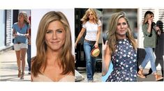 De kledingstijl van Jennifer Aniston. Jennifer Aniston Style, Soft Summer, Casual Outfits, Dresses With Sleeves, Long Sleeve, Blog, Beauty, Fashion, Casual Clothes