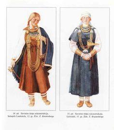 Sieviešu tērpu rekonstrukcija