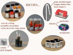 MINIDESIGN: Kruidenpotjes en meer van rietjes gemaakt!