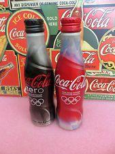 Coca Cola Set Vancouver Olympic 2010 Original Aluminium bottle. Flasche original