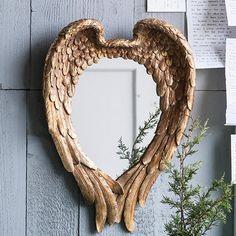 Angel Wing Wall Mirror