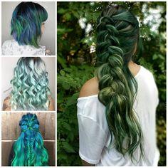 Vert Couleur des Cheveux des Idées pour 2017  Votre Coiffure