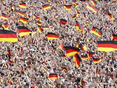German Soccer Fans Wallpaper - Desktop Wallpapers
