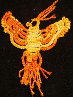 Ravelry: pengylady's Block Tatted Phoenix