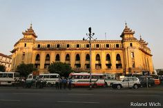 Yangon - City Hall, Burma