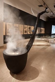 The smoke - story about tobacco, Ethnographic museum, Zagreb