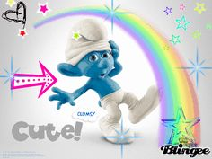 Clumsy the Smurf The Smurfs 2, Adventure Time Cartoon, Looney Tunes Cartoons, Cartoon Characters, Fictional Characters, Cartoon Network, Animated Gif, Geek Stuff, Animation