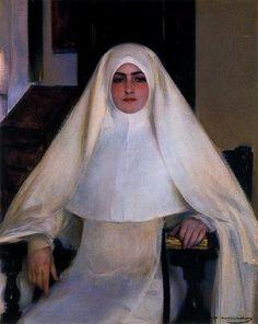MONJA. Ramón Casas i Carbó (1866-1932).