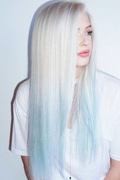 53 Platinum Blonde Hair Shades and Highlights for 2020 Blonde To Blue Ombre ❤️ Try platinum blonde hair shade if you want to stand out from the crowd. This color is so eye-catching. See our collection of platinum blonde looks. ❤️ See more: Hair Dye Colors, Ombre Hair Color, Cool Hair Color, Blonde Hair Shades, Platinum Blonde Hair, Blonde And Blue Hair, Icy Blue Hair, Pastel Blue Hair, Blonde Bobs