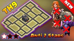 TH9 (Town Hall 9) Anti 2 Stars War Base 2016 - COC TH9 Anti GOHO Anti GOVAHO Anti GOVAPE War Base. TH9 (Town Hall 9) Anti 2 Stars/3 Stars war base 2016. COC TH9 (Town Hall 9) Best war base. Clash of clans TH9 (Town Hall 9) war base 2016. Best anti 2 stars/3 stars TH9 base design 2016. Clash of Clans th9 war base speedbuild.   Hey guys welcome to clash of clans TH9 (town hall 9) war base design speedbuild 2016 episode. In this clash of clans (COC) TH9 war base design speedbuild video we will…