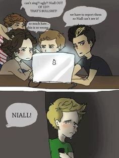 My poor baby Niall! :'(