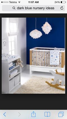 """""""Minnow"""" by Lulu DK Matouk Blue Modern Baby Bedding Love the color Decoration Inspiration, Nursery Inspiration, Nursery Themes, Nursery Room, Nursery Ideas, Beige Nursery, Baby Boy Rooms, Baby Boy Nurseries, Modern Baby Bedding"""