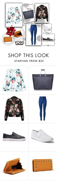 """YOINS-Online Inspiration"" by elmat ❤ liked on Polyvore featuring Komar and Steve Madden"