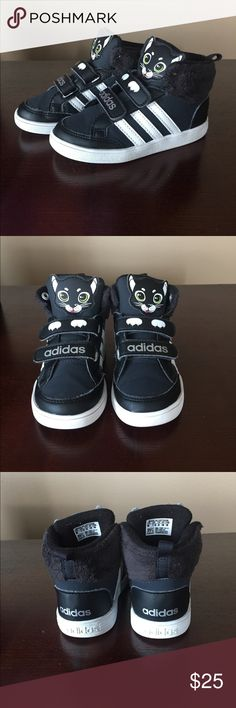 Adidas Adidas Hoops Animal Mid Toddler Sneakers adidas Shoes Sneakers