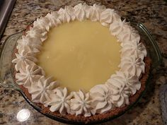 Creative Hospitality: Marie Callender's Style Lemon Cream Cheese Pie