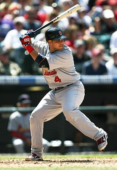 Yadier Molina. One of the favorites in our house!