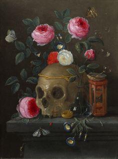 Vanitas Still Life, 1665-70, Jan van Kessel the Elder