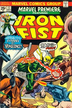 Marvel Premiere #17, September 1974, Pencils: Gil Kane; John Romita, Inks:Dick Giordano;