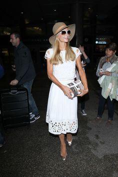 Paris Hilton Photos - Paris Hilton Is Seen at LAX - Zimbio