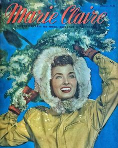 #ThrowBackThursday Marie Claire dicembre 1949  #MCMood #vintagemagazine #wintertime #marieclaire #vintagemood #vintage #throwback #40s via MARIE CLAIRE ITALIA MAGAZINE OFFICIAL INSTAGRAM - Celebrity  Fashion  Haute Couture  Advertising  Culture  Beauty  Editorial Photography  Magazine Covers  Supermodels  Runway Models