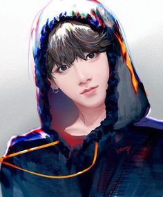 BTS Jungkook by: Unknown