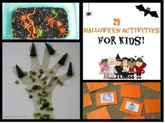 25 Halloween Activities for Kids - #halloween #kids #crafts