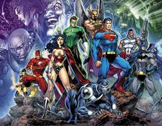 Jim Lee Milestone #7 - Jim Lee becomes director of DC Comics video game franchise DC Online Universe where his art sculpts all the character designs of DC's icons.