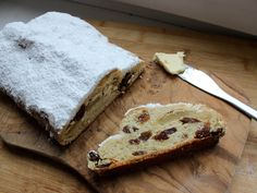 How to make buttery marzipan stollen at home.