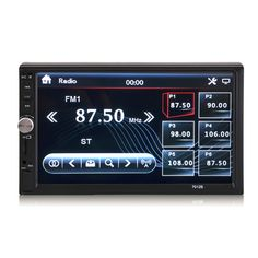 7012B 7 Inch 2 Din HD Car Radio MP5 Stereo Player Touch Screen Bluetooth Aux Rear Camera