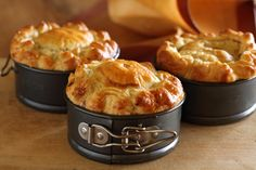 Coorong Angus Beef Pie with Red Wine, Fennel and Green Olives - Maggie Beer